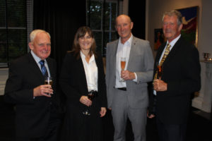 Bob Eades, Kathryn Beck, Rob Wills & Don Thomas